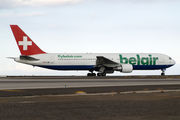 Boeing 767-300ER - HB-ISE operated by Belair Airlines