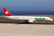 Boeing 757-200 - HB-IHS operated by Belair Airlines