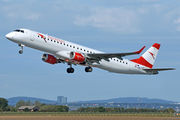 Embraer 190-200LR - OE-LWC operated by Austrian Airlines