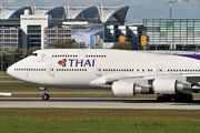 Boeing 747-400 - HS-TGA operated by Thai Airways
