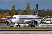 Airbus A350-941 - 9V-SMK operated by Singapore Airlines