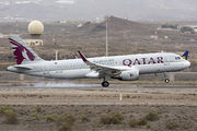 Airbus A320-214 - A7-LAD operated by Qatar Airways