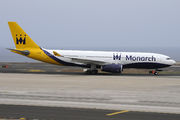 Airbus A330-243 - G-EOMA operated by Monarch Airlines