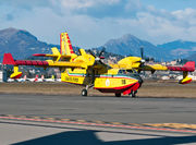 Canadair CL-415 - I-DPCT operated by Corpo nazionale dei vigili del Fuoco (Italian National Firefighters Corps)