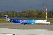 Nordica Bombardier CRJ900 - ES-ACC