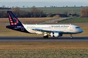 Airbus A319-111 - OO-SSA operated by Brussels Airlines