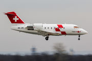 Bombardier CL-600-2B16 Challenger 604 - HB-JRB operated by Swiss Air-Ambulance