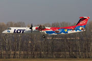 Bombardier DHC-8-Q402 Dash 8 - SP-EQH operated by LOT Polish Airlines