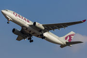 Airbus A330-243F - A7-AFG operated by Qatar Airways Cargo