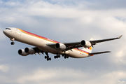 Airbus A340-642 - EC-IOB operated by Iberia
