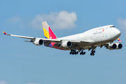 Boeing 747-400BDSF - HL7423 operated by Asiana Cargo