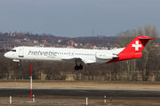 Fokker 100 - HB-JVE operated by Helvetic Airways