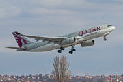 Airbus A330-243F - A7-AFY operated by Qatar Airways Cargo