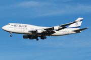 Boeing 747-400 - 4X-ELE operated by El Al Israel Airlines