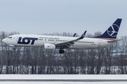 Boeing 737-800 - SP-LWB operated by LOT Polish Airlines
