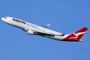 Airbus A330-202 - VH-EBF operated by Qantas