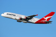 Airbus A380-842 - VH-OQA operated by Qantas