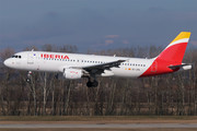 Airbus A320-214 - EC-JFN operated by Iberia