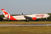 Boeing 767-300ER - C-GHLA operated by Air Canada Rouge