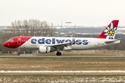 Airbus A320-214 - HB-IJU operated by Edelweiss Air