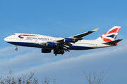 Boeing 747-400 - G-CIVR operated by British Airways