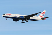 Boeing 777-200ER - G-YMME operated by British Airways