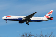 Boeing 777-200ER - G-VIIC operated by British Airways