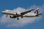 Airbus A320-232 - A7-AHF operated by Qatar Airways