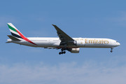 Boeing 777-300ER - A6-EBH operated by Emirates
