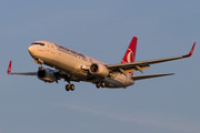 Boeing 737-800 - TC-JVZ operated by Turkish Airlines