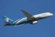 Boeing 787-8 Dreamliner - A4O-SZ operated by Oman Air