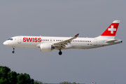 Bombardier BD-500-1A11 C Series CS300 - HB-JCF operated by Swissair