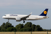 Airbus A320-271N - D-AINE operated by Lufthansa