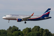 Airbus A320-214 - VP-BAD operated by Aeroflot