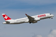 Bombardier BD-500-1A11 C Series CS300 - HB-JCI operated by Swiss International Air Lines