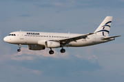 Airbus A320-232 - SX-DGX operated by Aegean Airlines