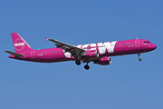 Airbus A321-211 - TF-KID operated by WOW air