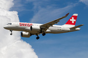 Bombardier BD-500-1A10 C Series CS100 - HB-JBD operated by Swiss International Air Lines