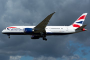 Boeing 787-8 Dreamliner - G-ZBJH operated by British Airways