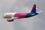 Airbus A320-232 - HA-LWM operated by Wizz Air