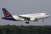 Airbus A319-111 - OO-SSQ operated by Brussels Airlines
