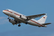Airbus ACJ319-133X - 15+01 operated by Luftwaffe (German Air Force)