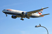 Boeing 777-200ER - G-VIIV operated by British Airways
