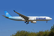 Airbus A330-342 - C-GKTS operated by Air Transat