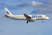 Airbus A320-232 - LZ-BHI operated by BH Air