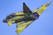 Saab Sk 37E Viggen - SE-DXO operated by Swedish Air Force Historic Flight