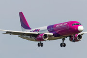 Airbus A320-232 - HA-LWA operated by Wizz Air