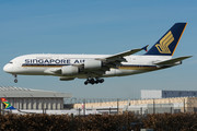 Airbus A380-841 - 9V-SKL operated by Singapore Airlines