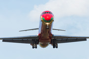 McDonnell Douglas MD-83 - OY-RUE operated by Danish Air Transport (DAT)