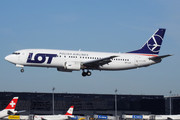 Boeing 737-400 - SP-LLE operated by LOT Polish Airlines
